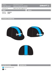 1901227 Cycling Cap Polyester